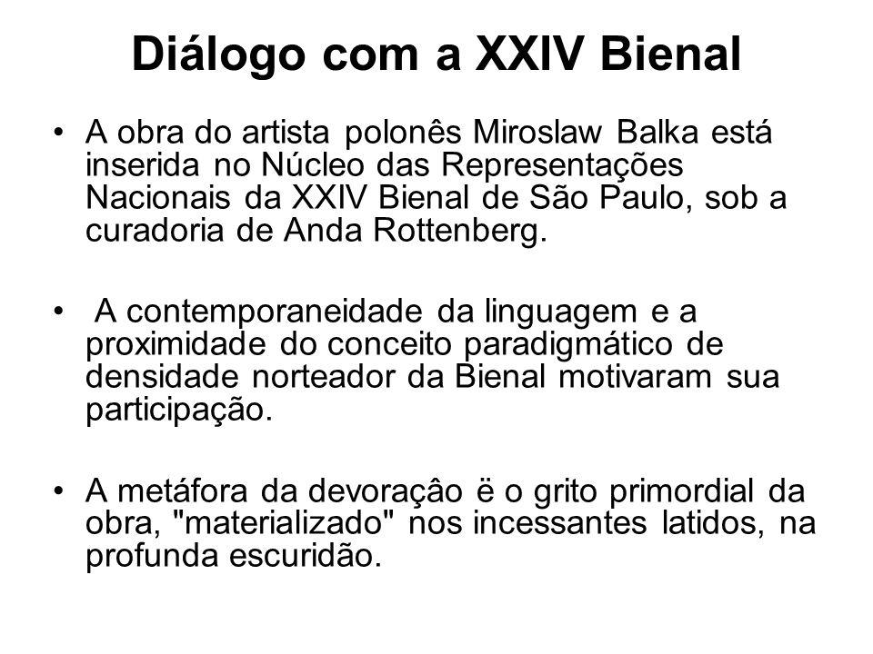Diálogo com a XXIV Bienal