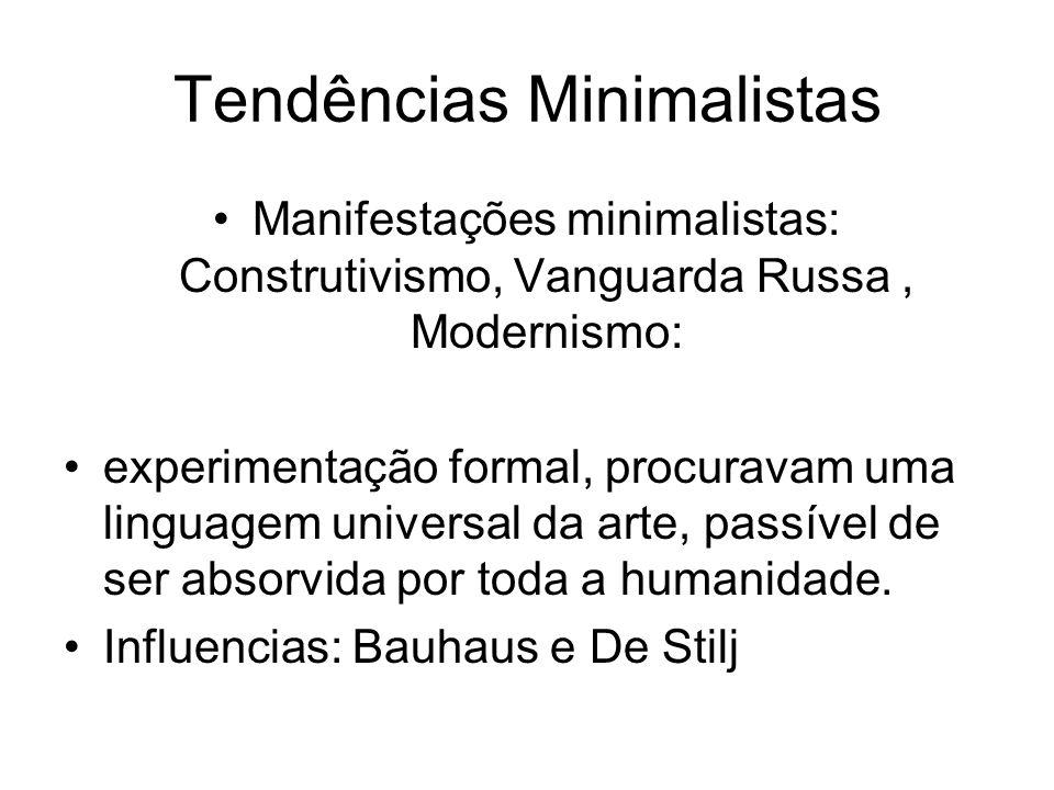 Tendências Minimalistas
