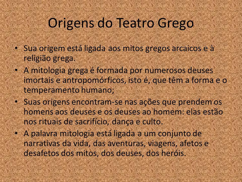 Origens do Teatro Grego