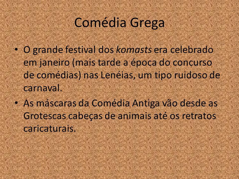 Comédia Grega