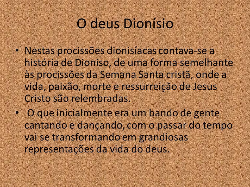 O deus Dionísio