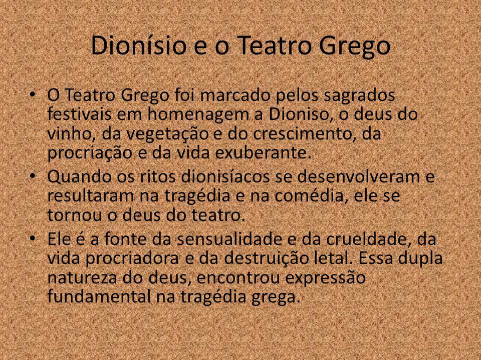 Dionísio e o Teatro Grego