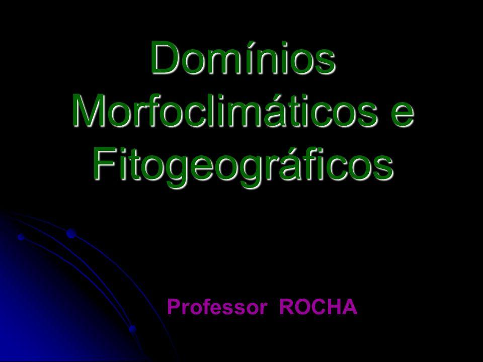 Domínios Morfoclimáticos e Fitogeográficos