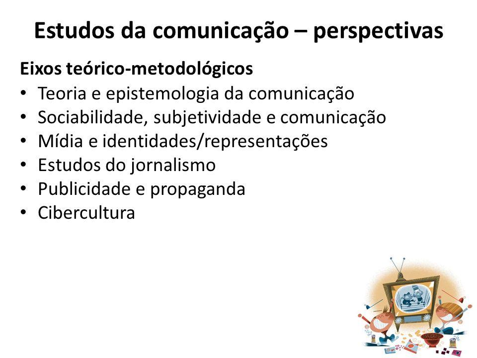 Estudos da comunicação – perspectivas