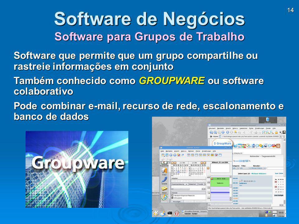 Software para Grupos de Trabalho