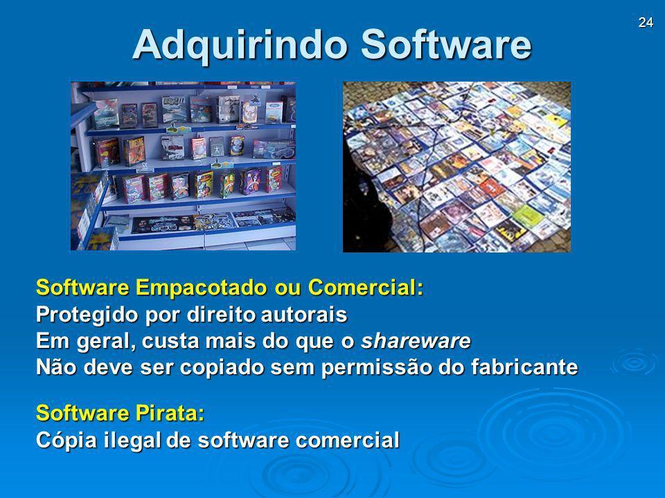 Adquirindo Software