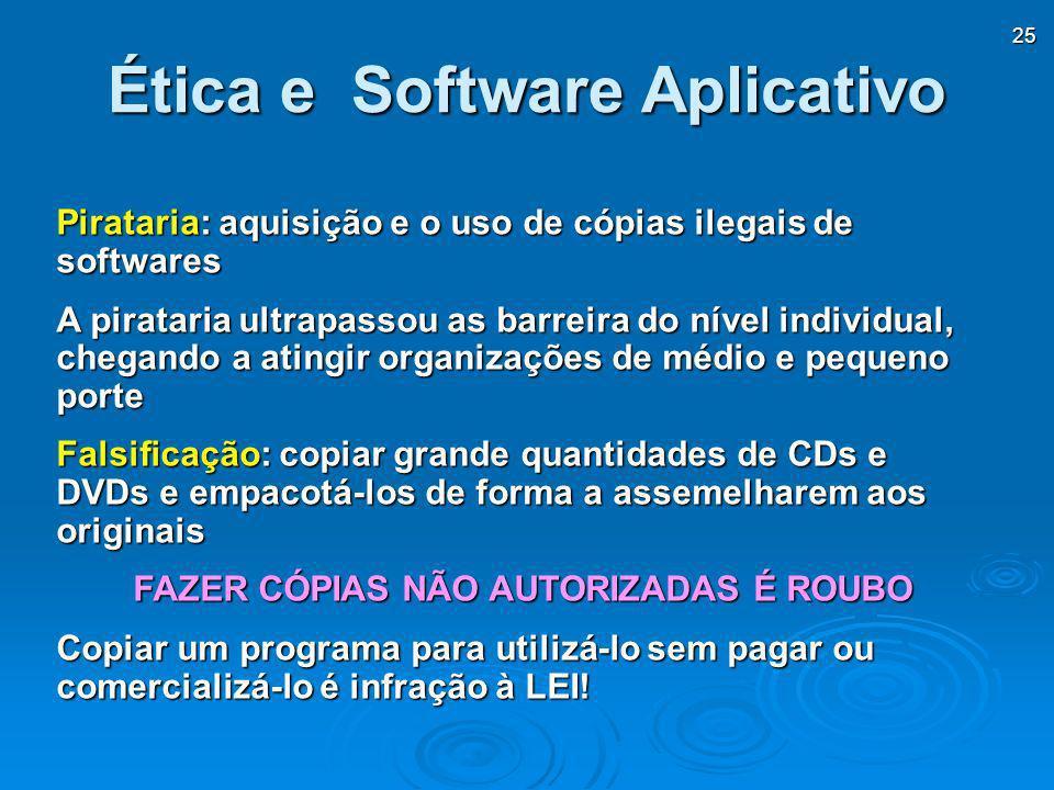 Ética e Software Aplicativo