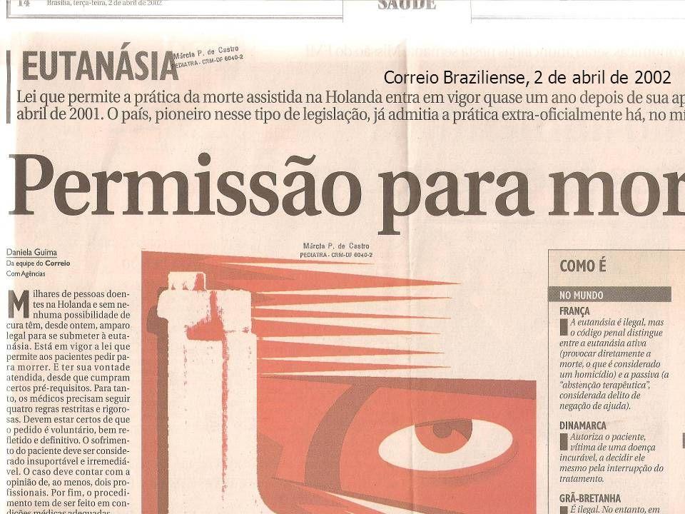 Correio Braziliense, 2 de abril de 2002