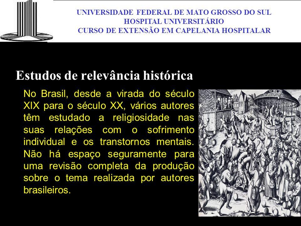 Estudos de relevância histórica