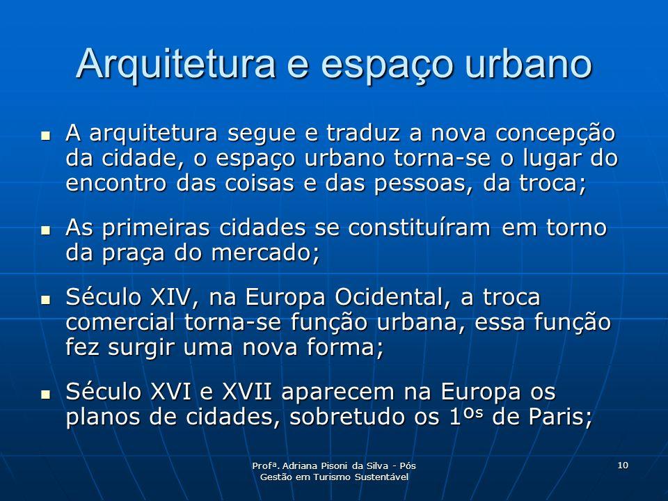 Arquitetura e espaço urbano