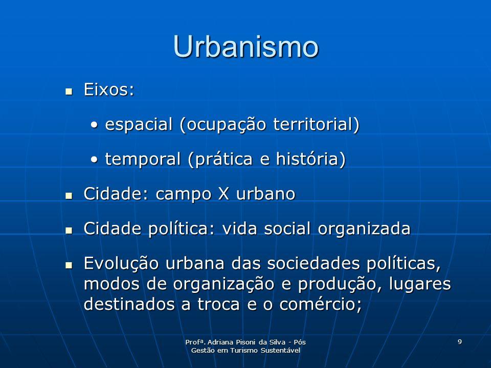Profª. Adriana Pisoni da Silva - Pós Gestão em Turismo Sustentável