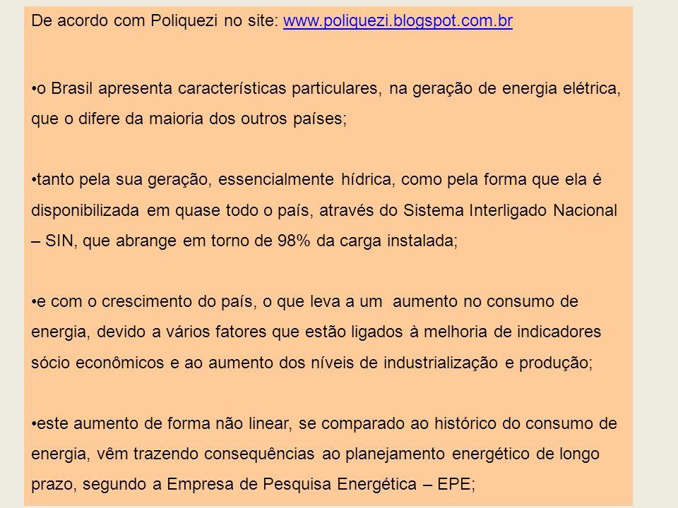 De acordo com Poliquezi no site: www.poliquezi.blogspot.com.br
