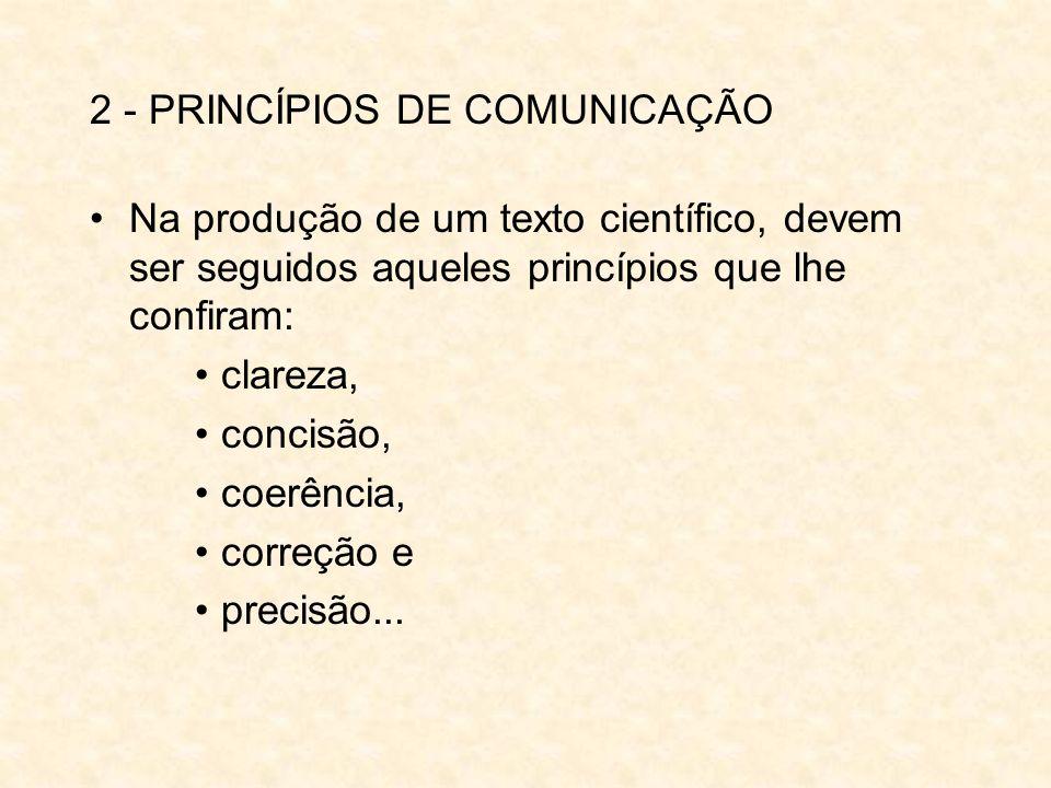 2 - PRINCÍPIOS DE COMUNICAÇÃO
