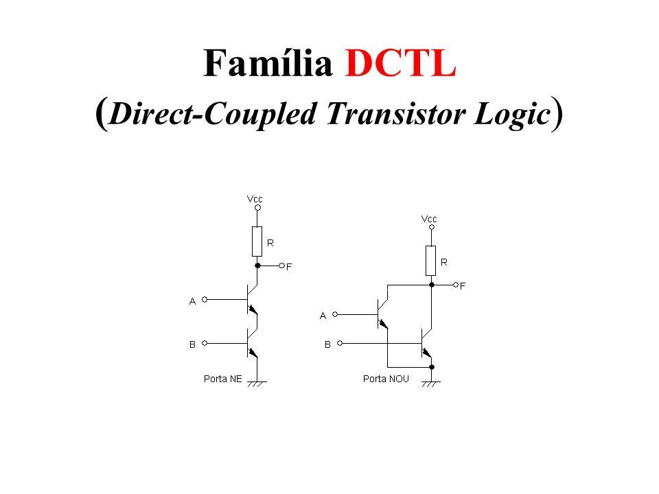 Família DCTL (Direct-Coupled Transistor Logic)