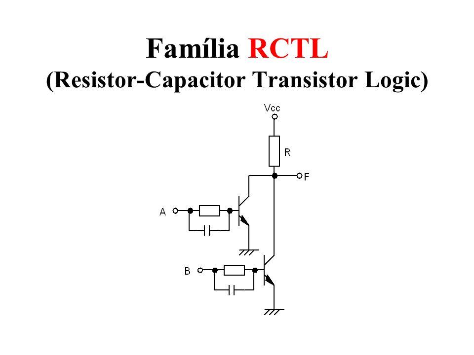 Família RCTL (Resistor-Capacitor Transistor Logic)