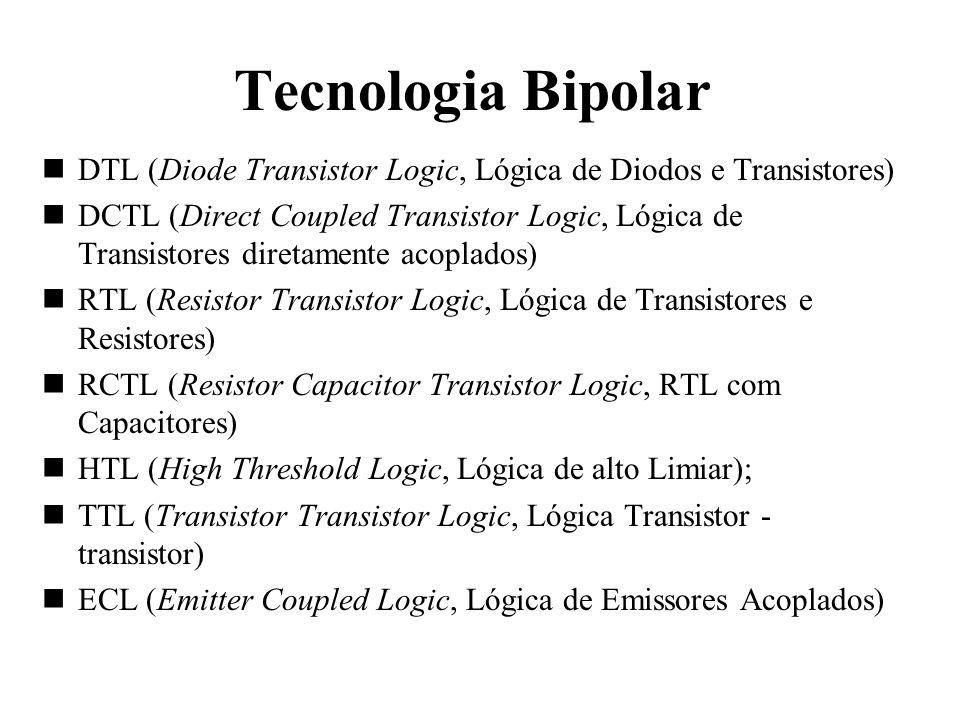 Tecnologia BipolarDTL (Diode Transistor Logic, Lógica de Diodos e Transistores)