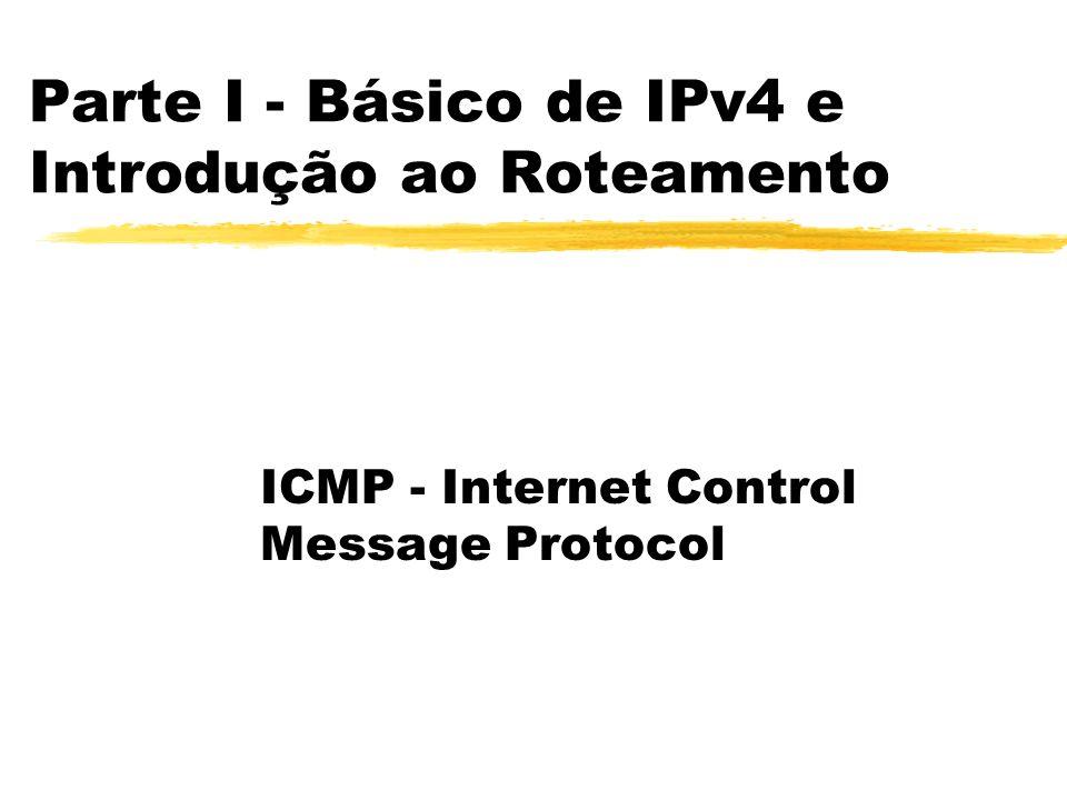 Parte I - Básico de IPv4 e Introdução ao Roteamento