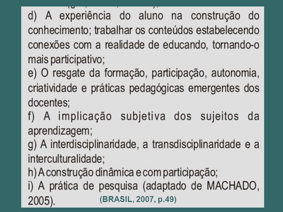 (BRASIL, 2007, p.49)