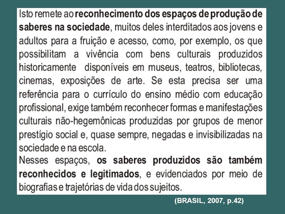 (BRASIL, 2007, p.42)