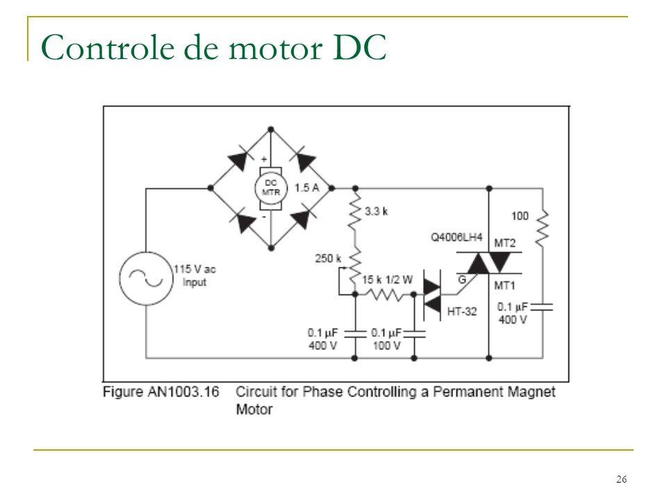 Controle de motor DC