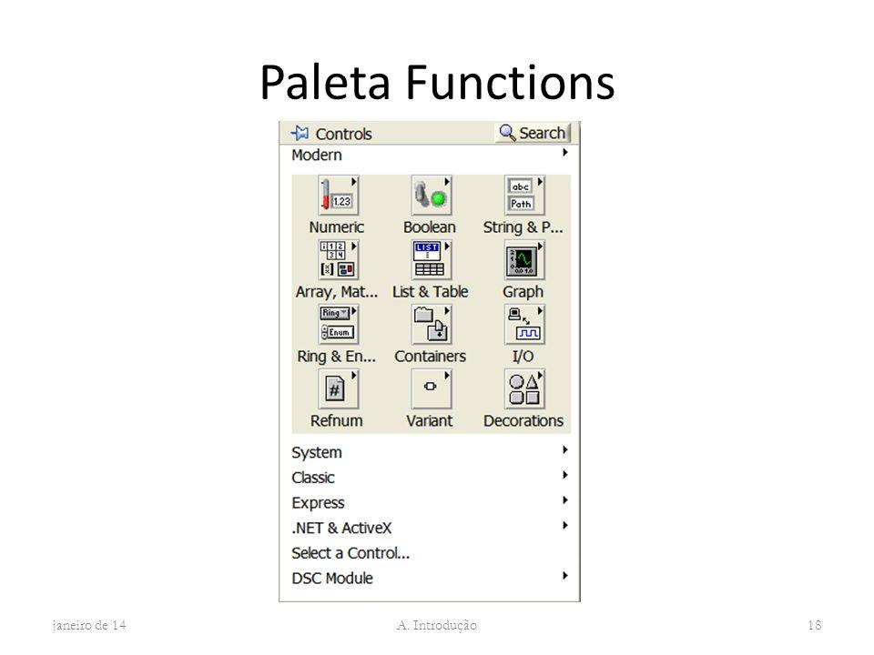 Paleta Functions março de 17 A. Introdução