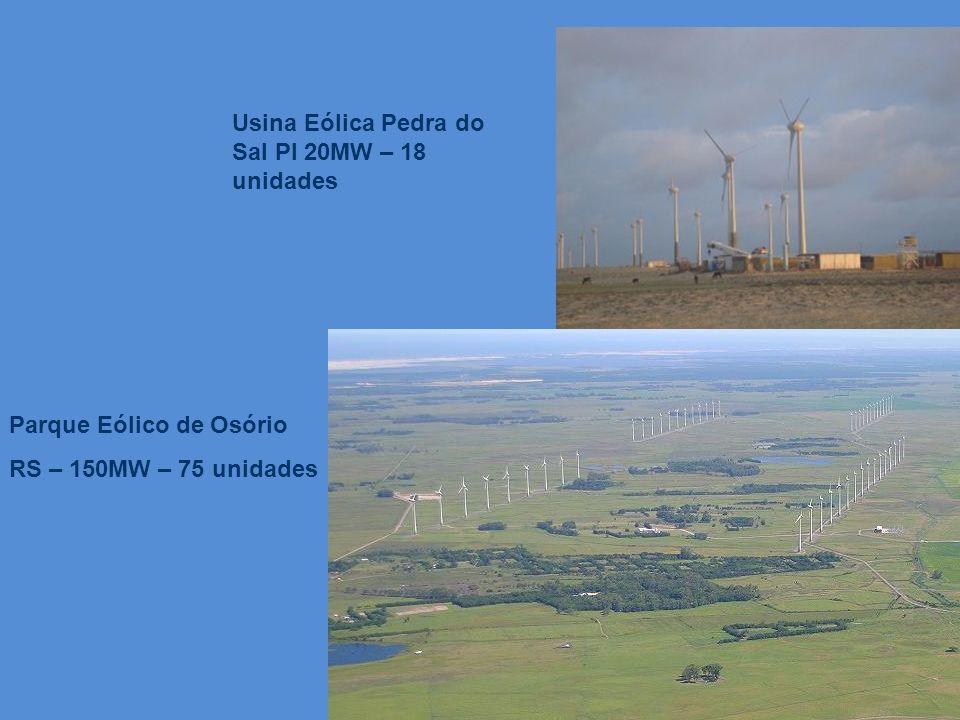 Usina Eólica Pedra do Sal PI 20MW – 18 unidades