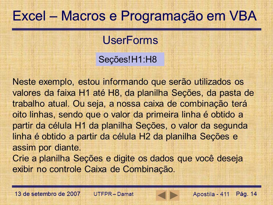 UserFormsSeções!H1:H8.