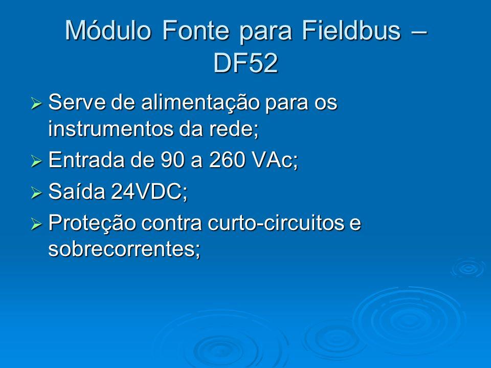 Módulo Fonte para Fieldbus – DF52