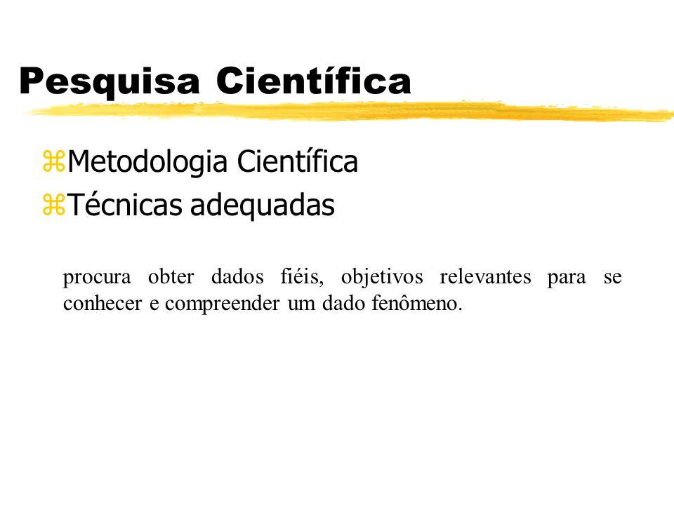 Pesquisa Científica Metodologia Científica Técnicas adequadas