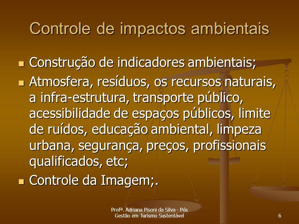 Controle de impactos ambientais
