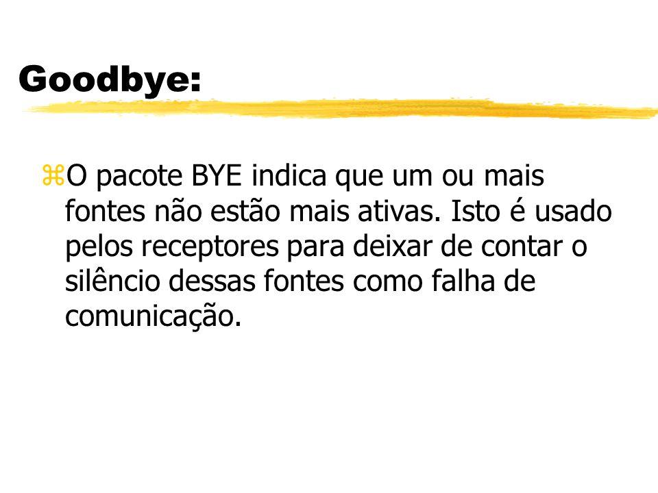 Goodbye: