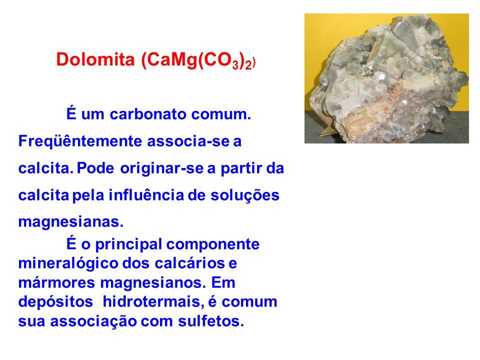 Dolomita (CaMg(CO3)2)