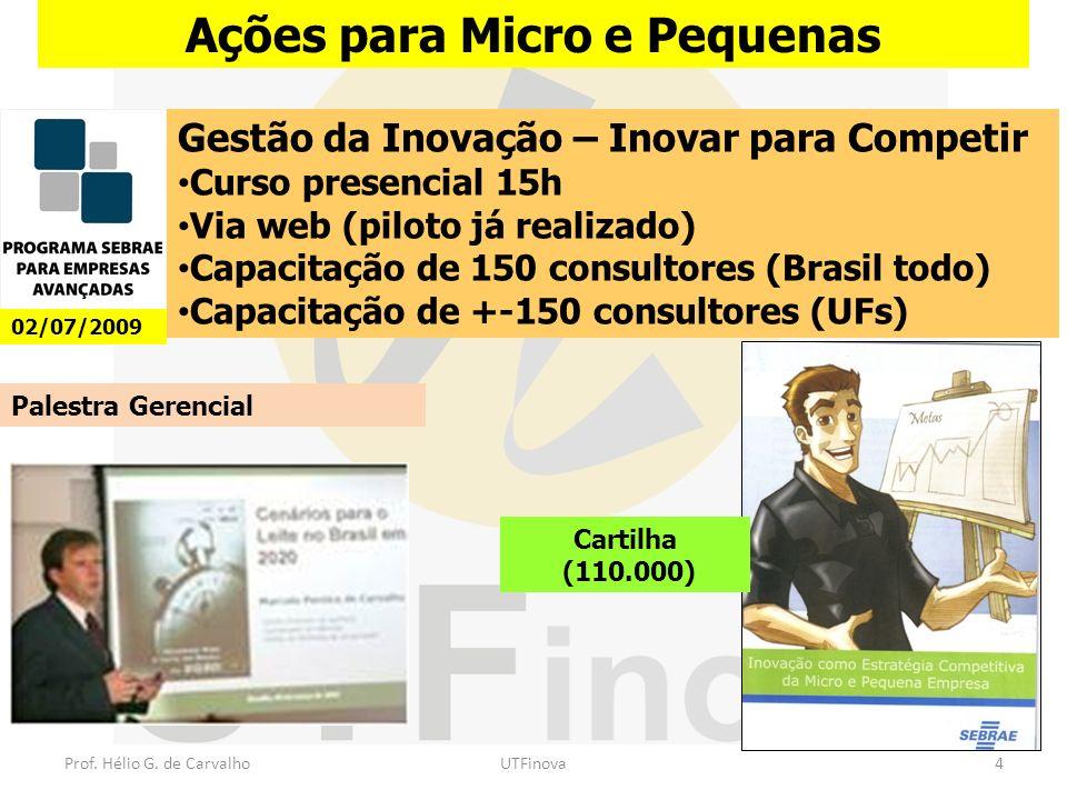 Ações para Micro e Pequenas