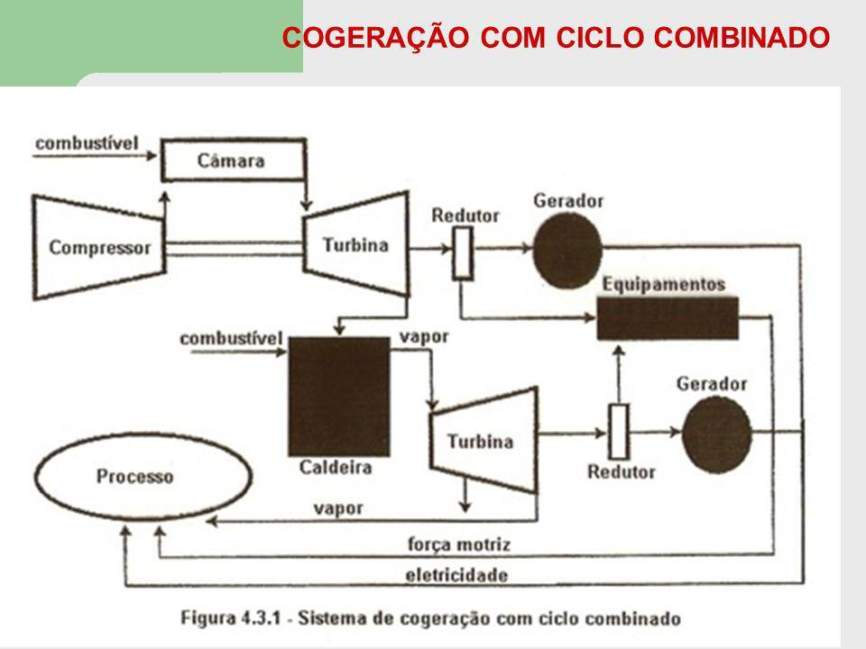 COGERAÇÃO COM CICLO COMBINADO