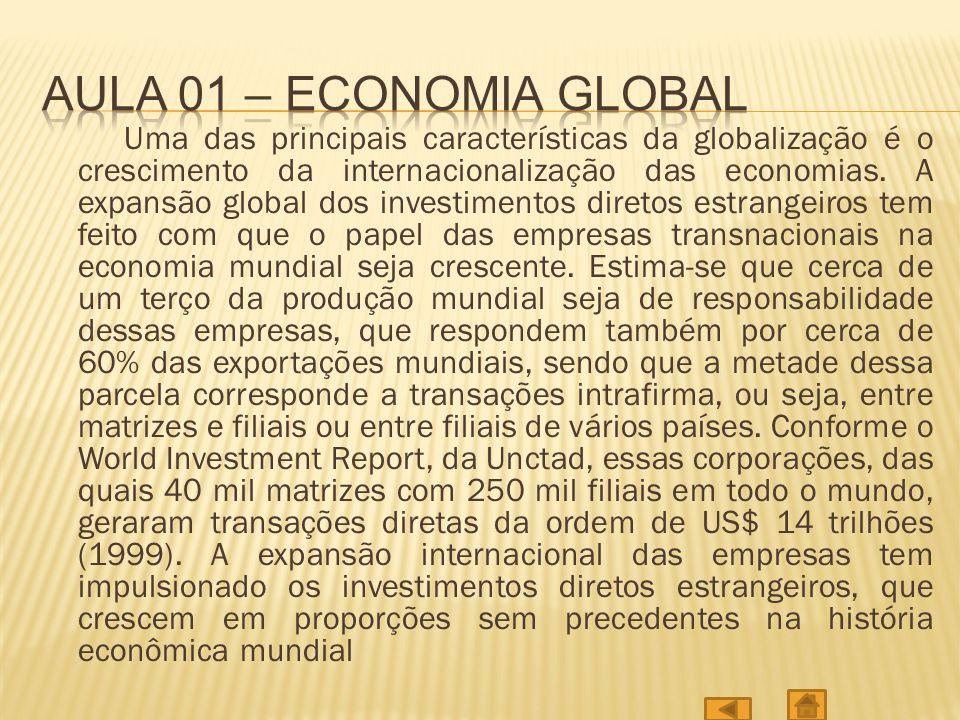 Aula 01 – economia global