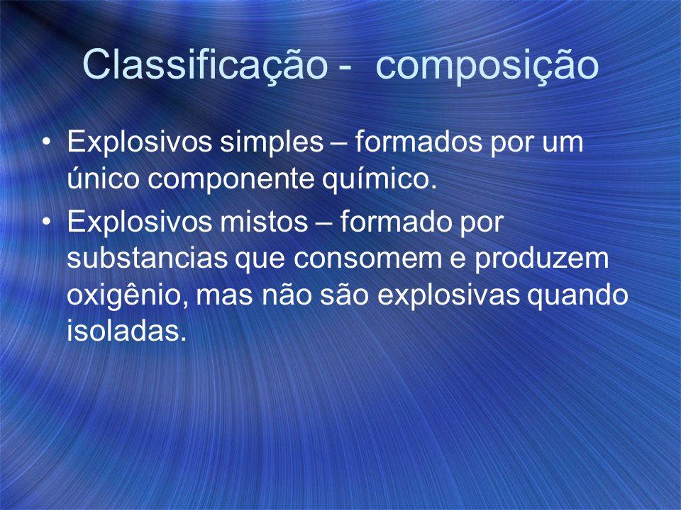 Classificação - composição