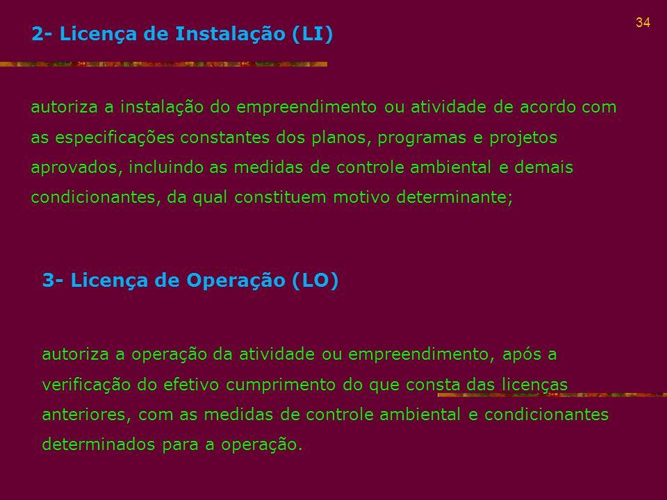 2- Licença de Instalação (LI)