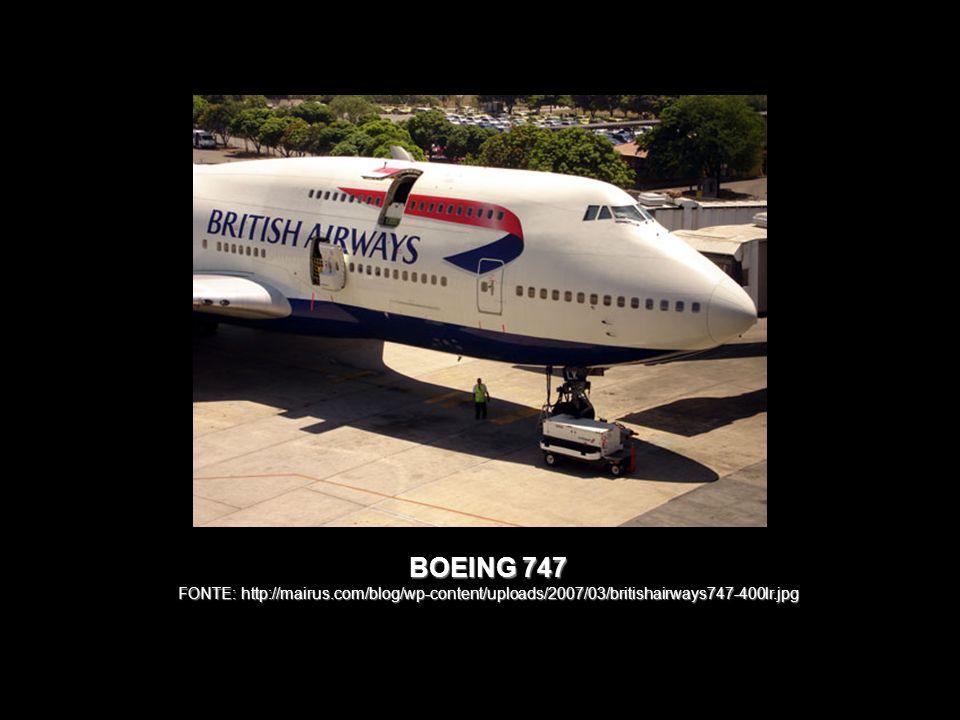 BOEING 747 FONTE: http://mairus.com/blog/wp-content/uploads/2007/03/britishairways747-400lr.jpg