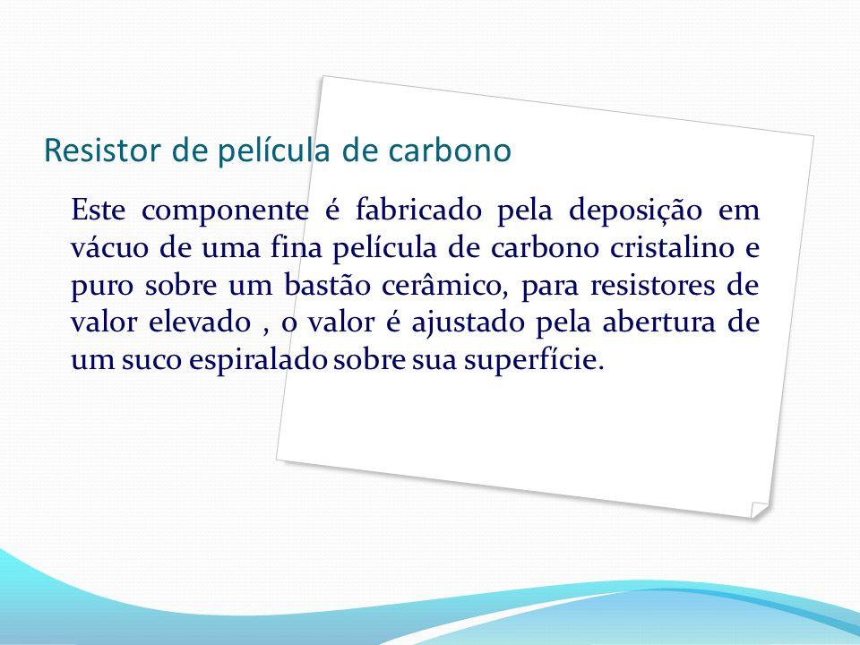 Resistor de película de carbono