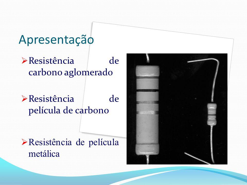 Apresentação Resistência de carbono aglomerado