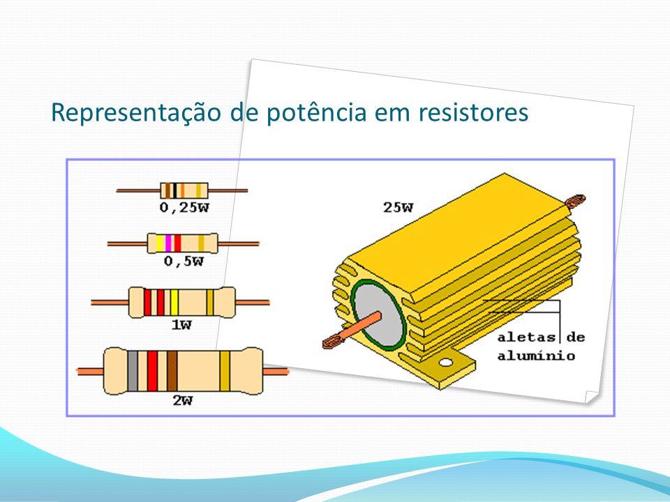 Representação de potência em resistores