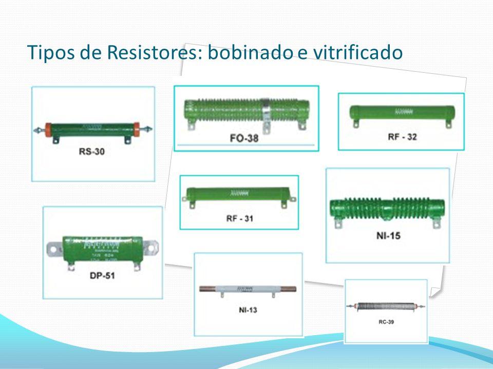 Tipos de Resistores: bobinado e vitrificado