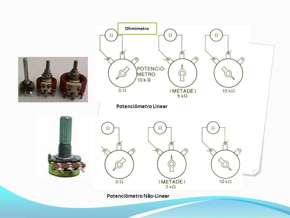 Potenciômetro Linear.