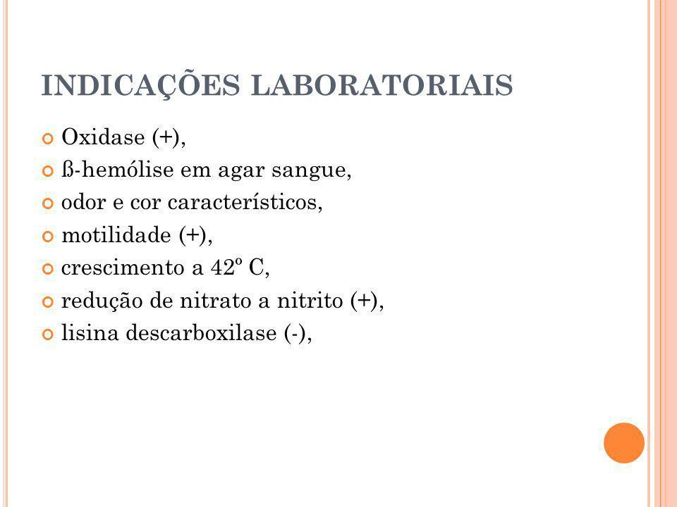 INDICAÇÕES LABORATORIAIS
