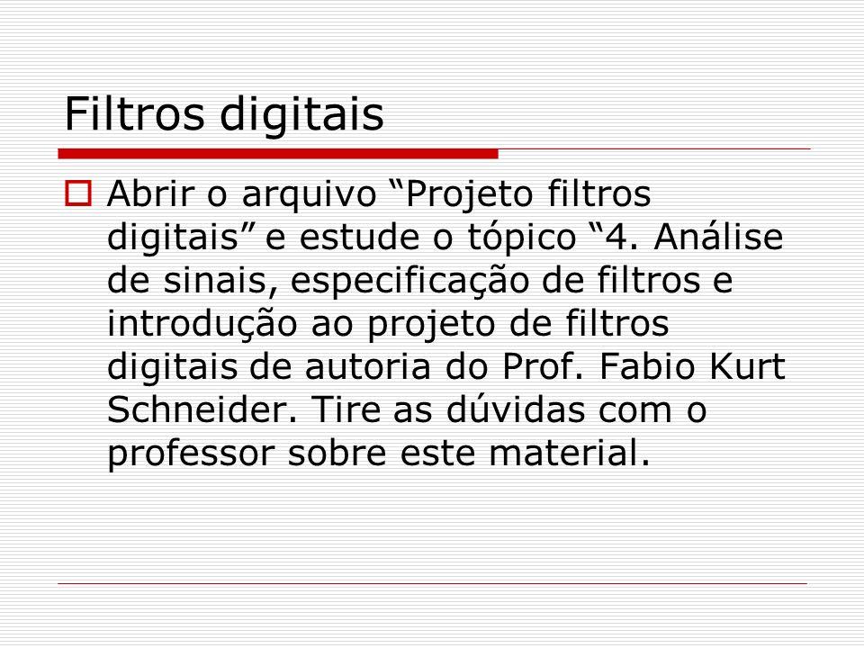 Filtros digitais