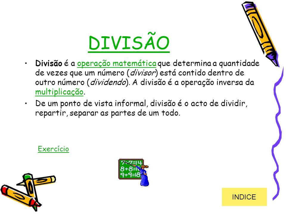 DIVISÃO