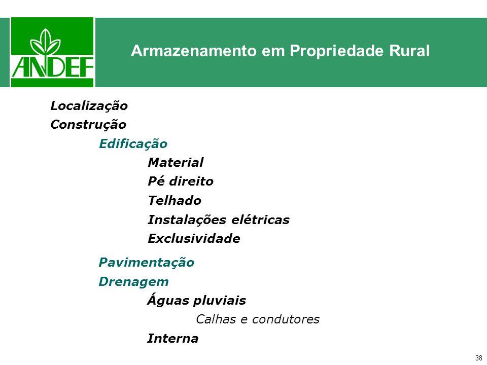 Armazenamento em Propriedade Rural