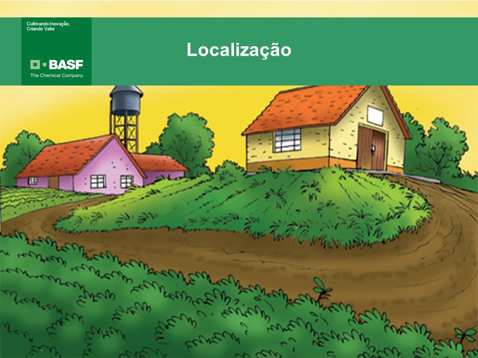 Localização Localização Distante de: Área residencial