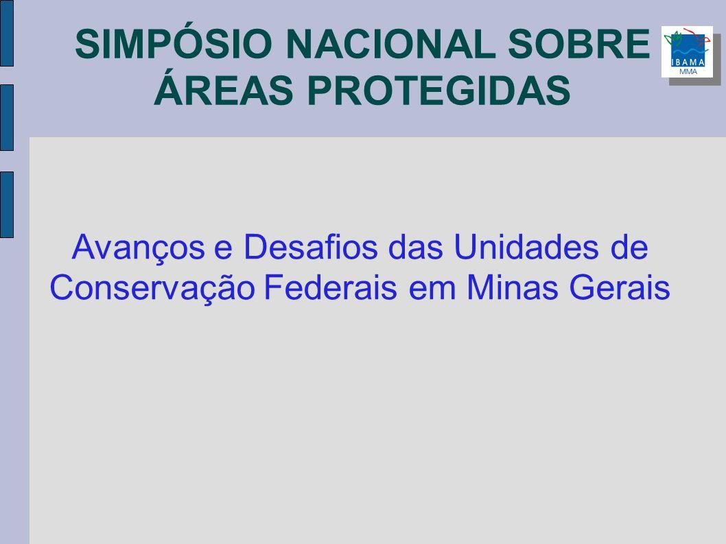 SIMPÓSIO NACIONAL SOBRE ÁREAS PROTEGIDAS