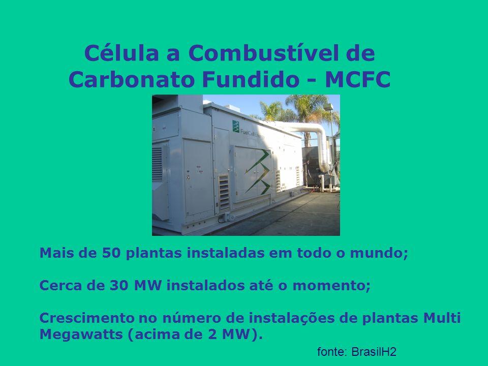 Célula a Combustível de Carbonato Fundido - MCFC